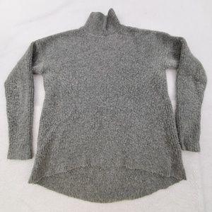 Madewell Wafflestitch Turtleneck Sweater S Merino